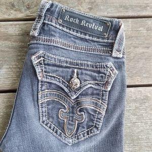 Rock revival debbie straight Jean's size 26